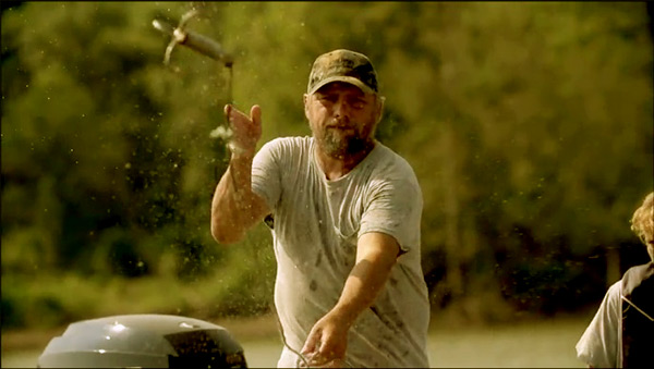 Image of Caption: Junior Edwards from the TV reality show, Swamp People