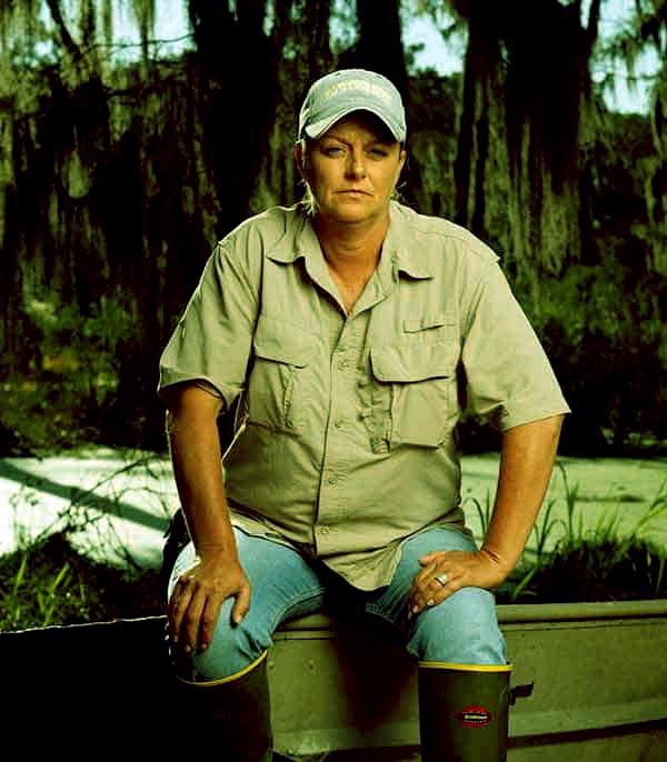 Image of Caption: Swamp People cast Liz Cavalier salaries