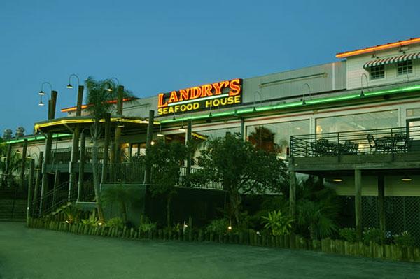 Image of Caption: Troy Landry restaurants Landry's Sea Food House