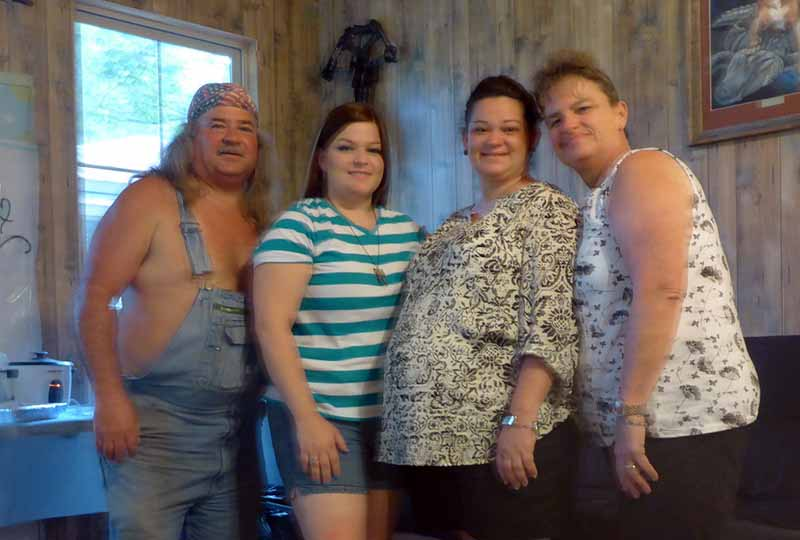 Photo of Bruce Mitchell's Family.