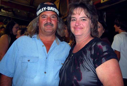 Photo of Bruce Mitchell and his wife, Janet Kliebert.